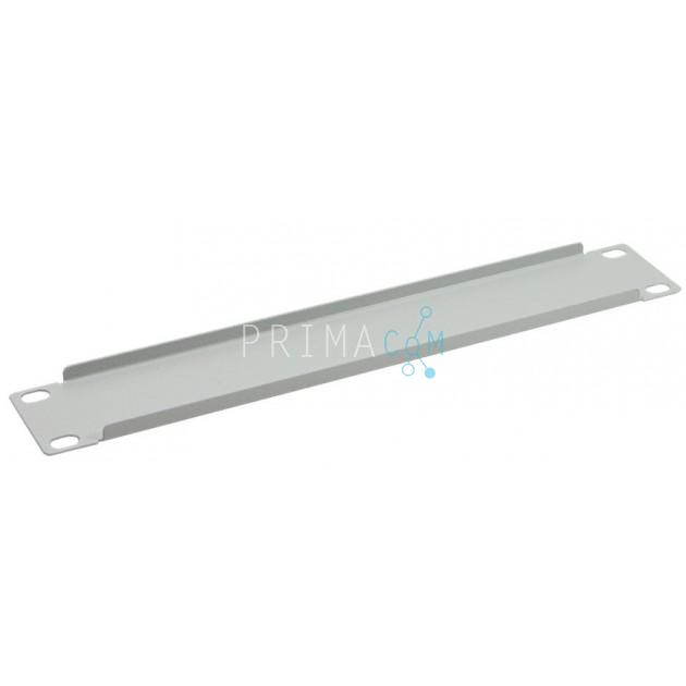 Techly I-CASE M10-BLANK 1U Blind panel for 10 rack Grey