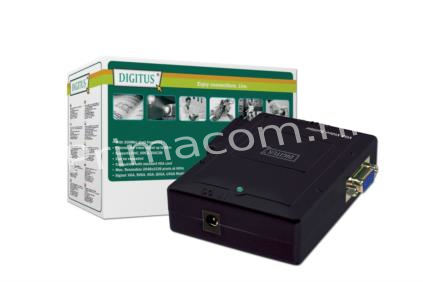 DS-41120 Video Splitter compact 1 PC-> 2 Monitors