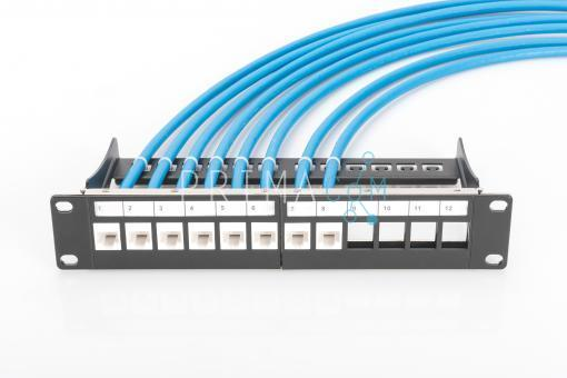DN-93606 CAT 6A Keystone Jack, unshielded, 500 MHz toolfree connection. 245124