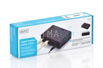 DN-80063 Gigabit Desktop Switch, 5-port