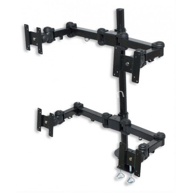 ICA-LCD 04 LCD Monitor arm holds 4 flat panel monitors