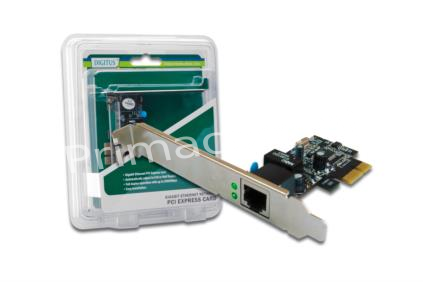 DN-10130-2 PCI Express Network Card 10/100/1000MBIT 276555