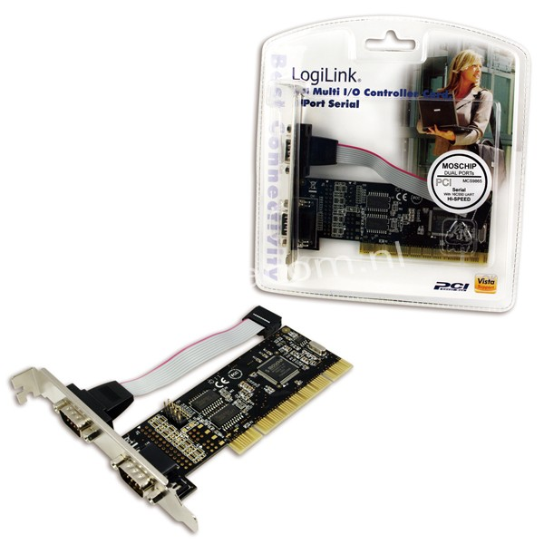 PC0016 PCI Card, 2x Serial Port