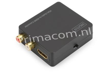 DS-40130-1 VGA to HDMI Converter incl. audio transmission