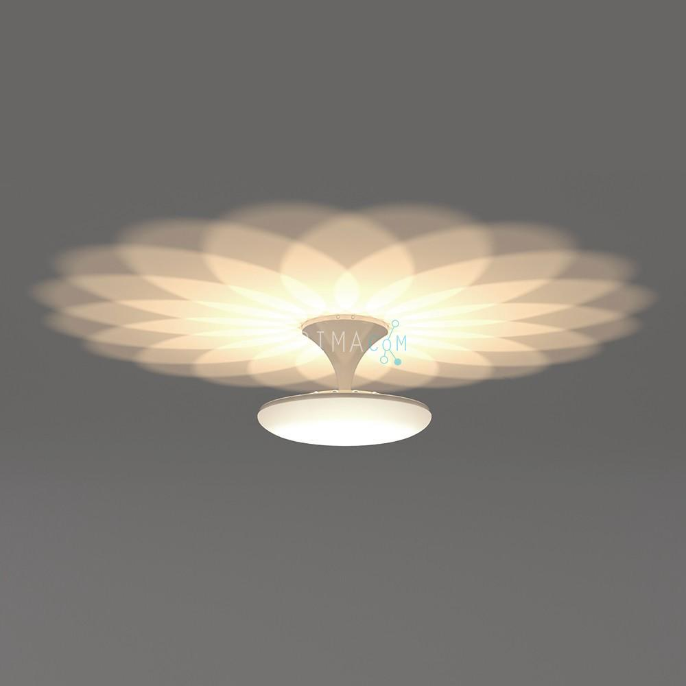 LED Up/Down Ceiling Lamp, 100W, Size Ø 588mm UP5000K / Down4000K